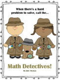 Math Detectives - Learn How to Organize and Show Your Math