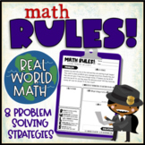 Math Detectives: Math RULES Problem Solving Strategy