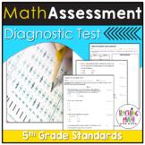 Math Diagnostic Assessment Grade 5 | Math Diagnostic Test 5th Grade