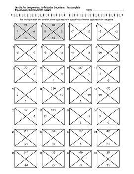 Math Diamonds - Regenerates numbers - Infinite problem set