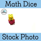 Math Dice Stock Photo