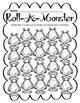 Math Dice Game - Monster Theme