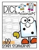 Math Dice Activity Book - 2.NBT.1, 2.NBT.2, 2.NBT.3, 2.NBT.4, 2.NBT.5, & More!
