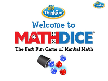 How to Play Math Dice