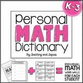 Math Dictionary (K-3)