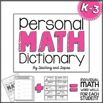 Math Dictionary (K-3)