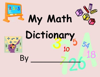 Math Dictionary using Frayer