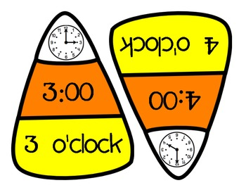 Math - Differentiated Candy Corn Time