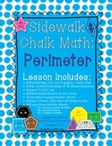 {Math} Differentiated Chalk Math: Perimeter 2D Shapes Common Core aligned