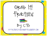 Math Differentiated Grab It! Fractions Center