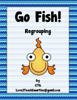 Math - Differentiated Regrouping Go Fish
