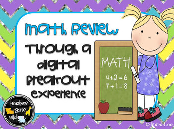 Math Digital Breakout