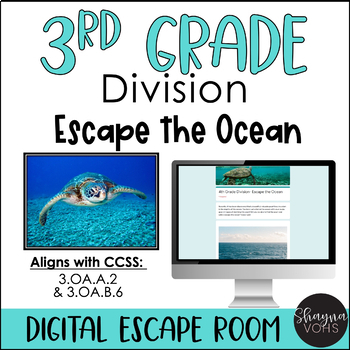 Math Digital Escape Room | 3rd Grade by Shayna Vohs | TpT