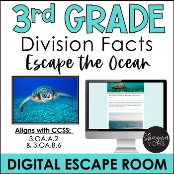 Math Digital Escape Room   3rd Grade by Shayna Vohs   TpT