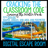 Math Digital Escape Room 4th Grade Geometry Distance Learning