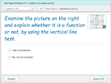 Math Digital Practice 017 - Function or not Vertical Line Test