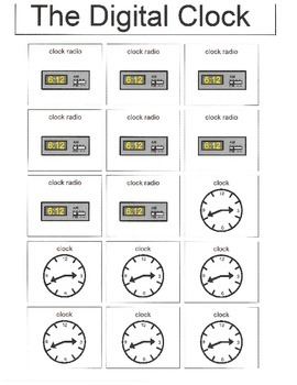 Math: Digital or Analog Clocks