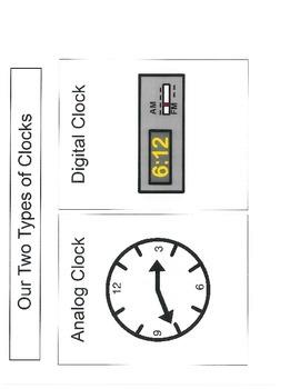 Math: Digital or Analog Clocks