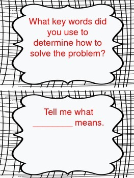 Math Discourse Posters and Sentence Stems