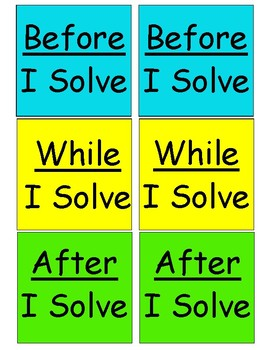 Math Discussion Cards for Problem Solving
