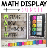 Math Display Bundle (3 printable displays!)