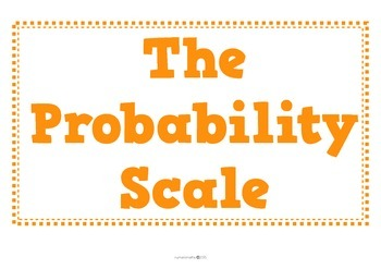 Math Display Pack - The Probability Scale