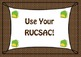 Math Display RUCSAC Solving Word Problems Decoration Poster