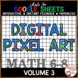 Google Sheets Digital Pixel Art Bundle Volume 3