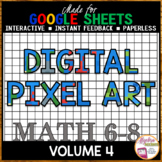 Google Sheets Digital Pixel Art Bundle Volume 4
