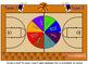 Math Division Hoop Shoot basketball Smart Board game 2 dig