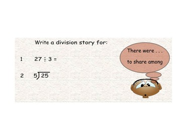 Math SmartBoard- Division introduction
