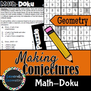 Math-Doku: Making Conjectures; Geometry, Logic