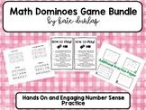 Math Domino Activity Bundle