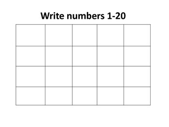 Math Domino Addition and Writing Numbers