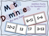 Math Dominoes: Addition Facts for Numbers 10-20