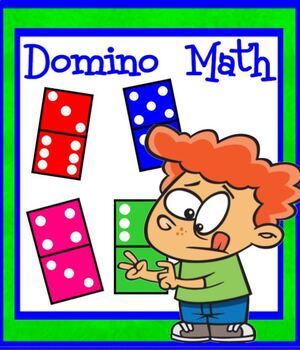 Math Dominoes Addition SMARTBOARD