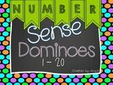 Math Dominoes {Number Sense}