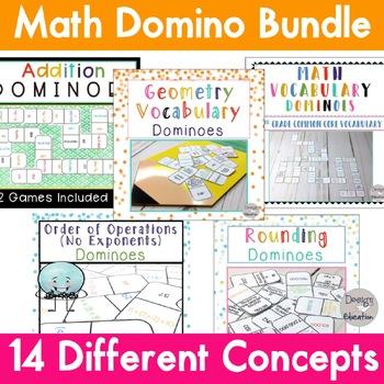 Math Dominoes Ultimate Bundle