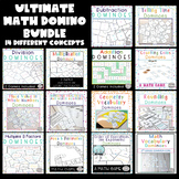Math Games Bundle | Math Centers Bundle | Math Dominoes Ultimate Bundle