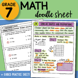 Math Doodle - Similar Shapes and Proportions - Easy to Use