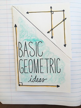 Doodle Notes - Math Interactive Notebook Bundle 8 - Shapes