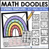 Math Doodles SIGNS OF SPRING - Math Art Writing