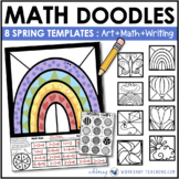 Math Doodles SIGNS OF SPRING - Math Art Writing