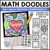 Math Doodles SPRING CELEBRATIONS - Math Art Writing