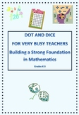 Math Dot and Dice - Building A Strong Foundation in Mathem
