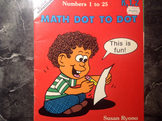 Math Dot to dot numbers 1-25