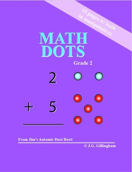 Math Dots - Math Exercises With Built In Manipulatives (50