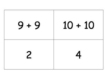 Math Doubles Concentration