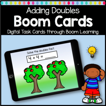 Boom Cards Math Doubles Facts Digital Learning