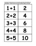 Math Doubles Flashcards